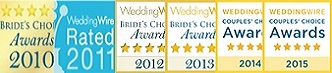 WeddingWire Brides Choice Awards